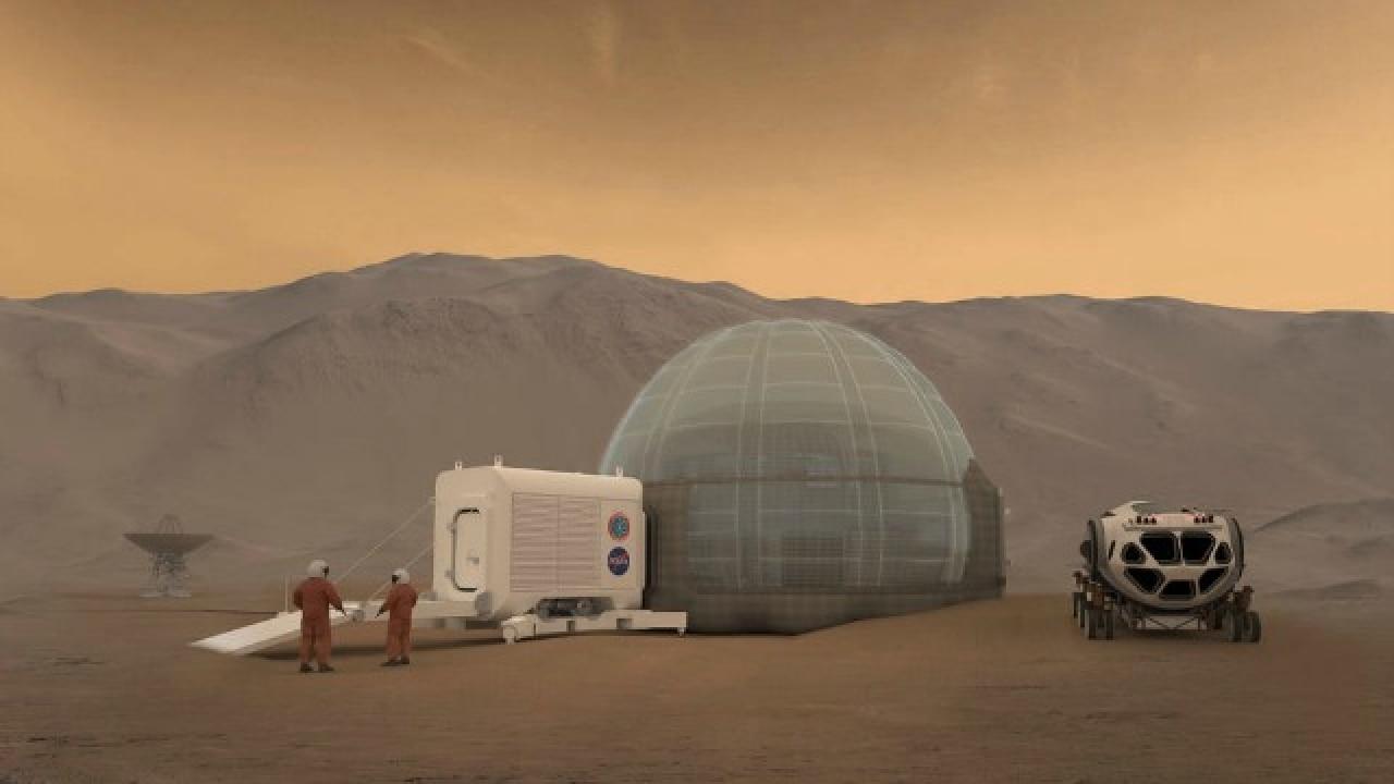 NASA proposes 'Ice Home' design for future Mars explorers