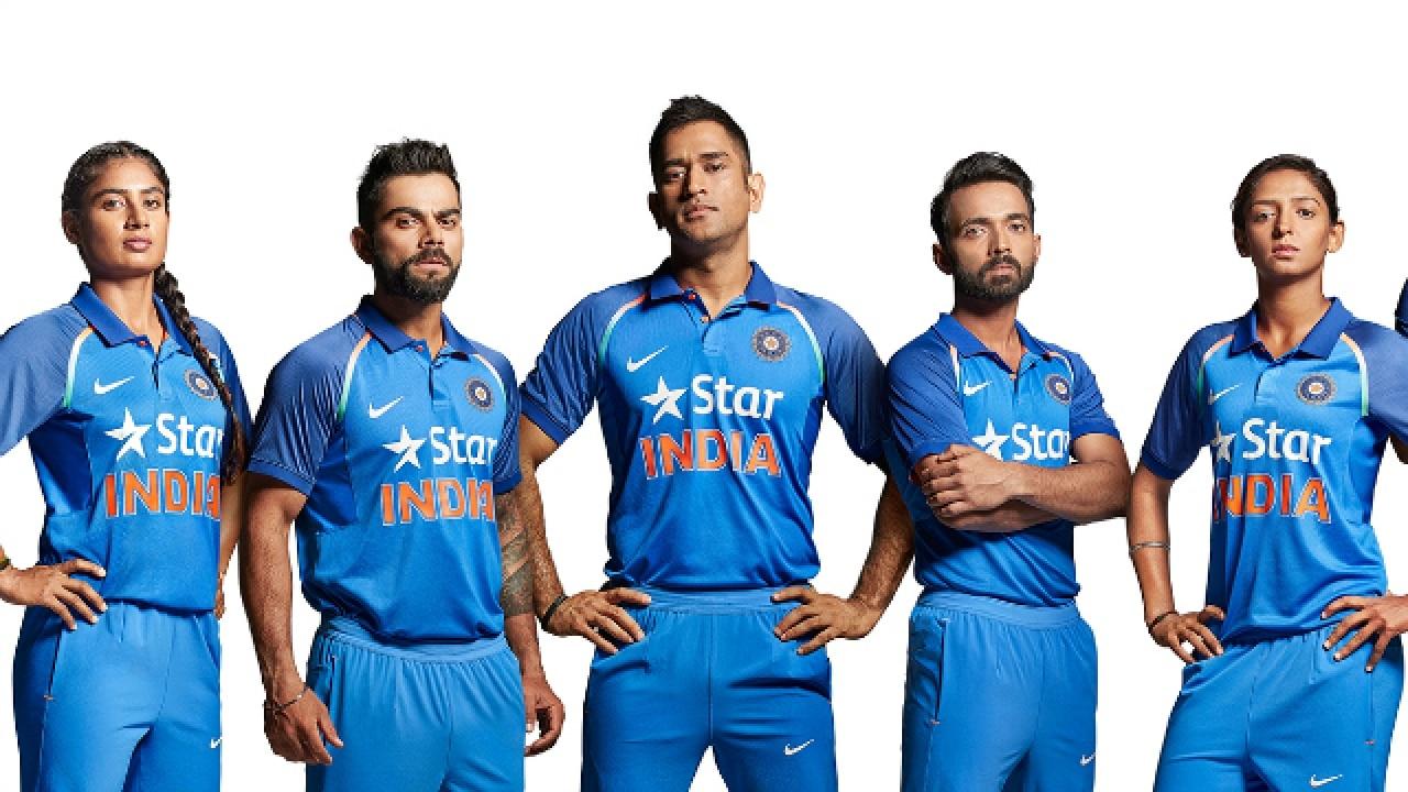 New T Shirt Of Indian Cricket Team Azərbaycan Dillər