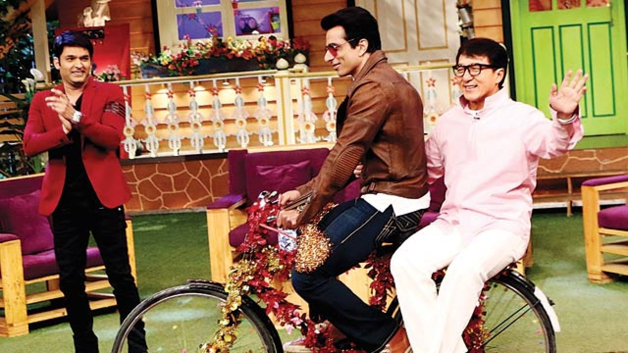 Here are the things Jackie Chan did on The Kapil Sharma Show