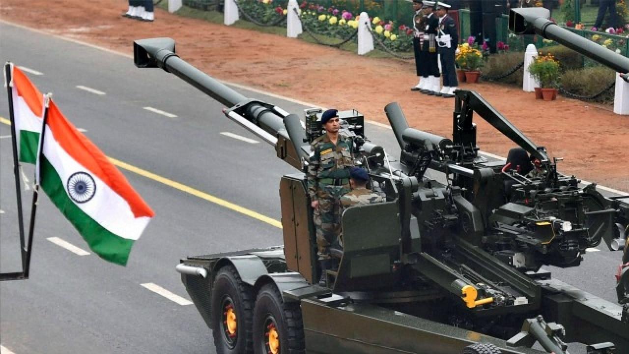 Republic day 2017 parade ceremonial artillery fires perfect 21 gun republic day 2017 parade ceremonial artillery fires perfect 21 gun salute despite rainy weather altavistaventures Images