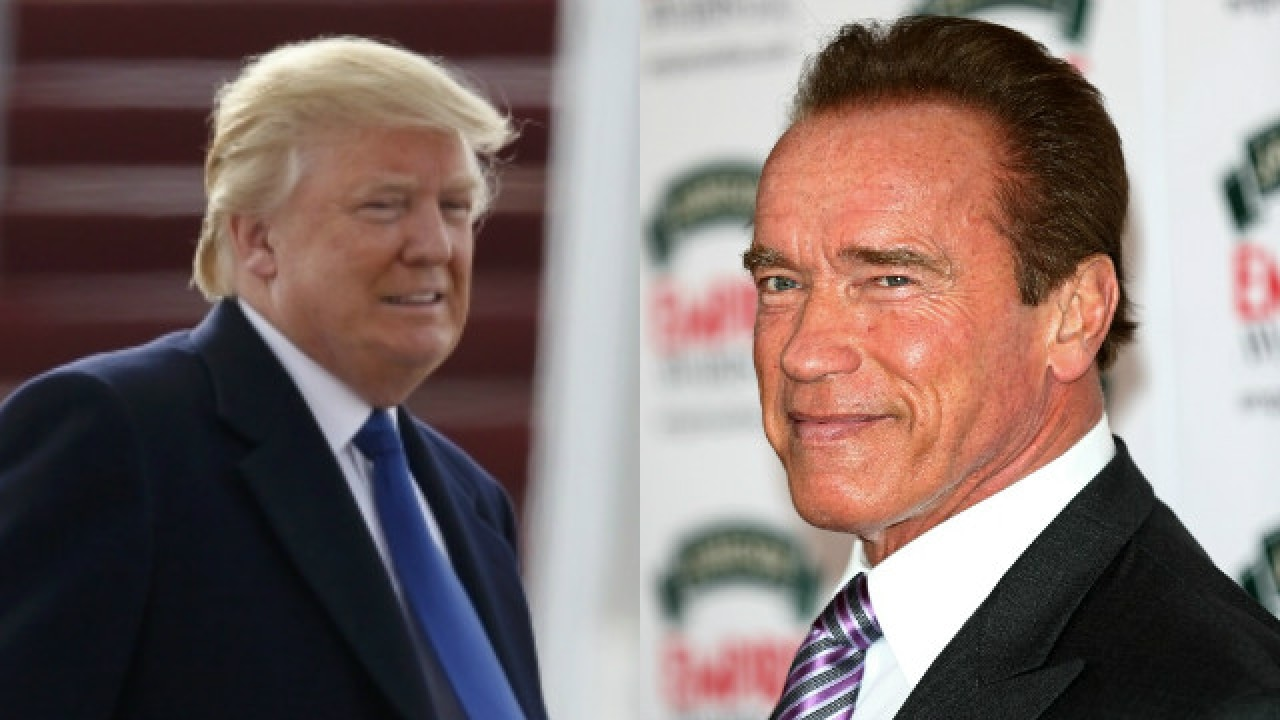 Arnold Schwarzenegger wants to swap places with Trump 03.02.2017 16