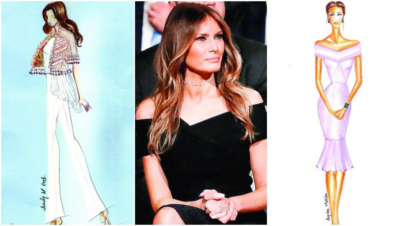 Why Indian Designers Believe Melania Trump Needs A Makeover