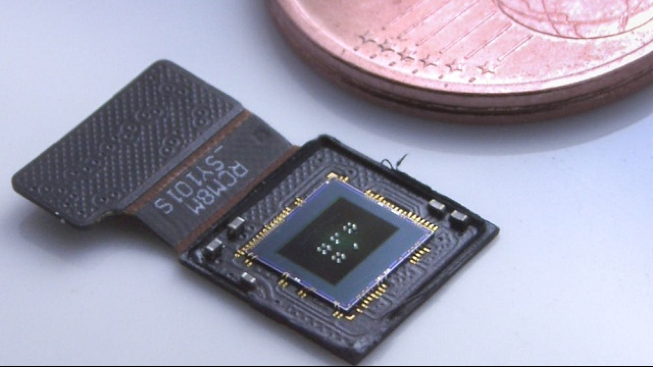 This 3D-printed micro-camera sees with eagle-eye vision
