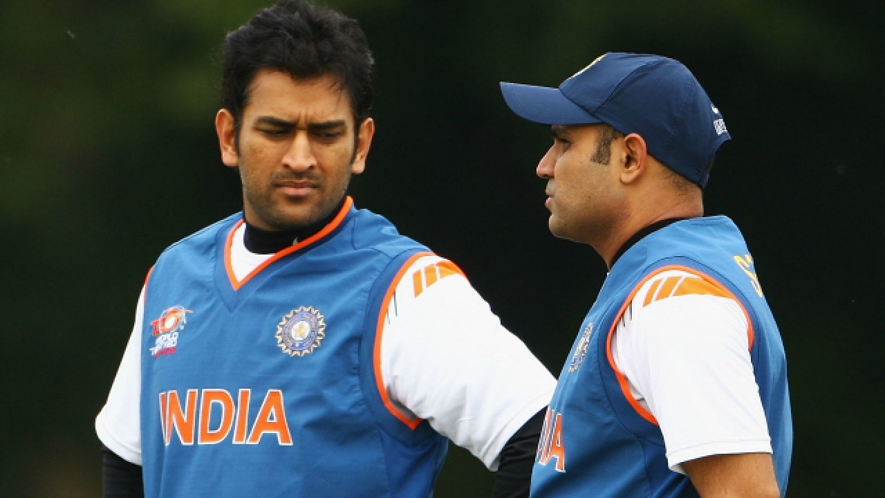 Image result for sehwag about dhoni