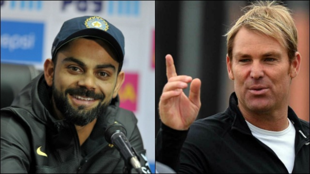 Image result for shane-warne KOHLI