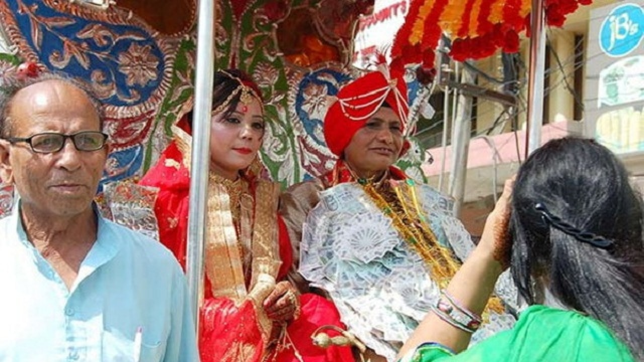 In Pics: Punjab's first ever same-sex marriage breaks taboo and the internet