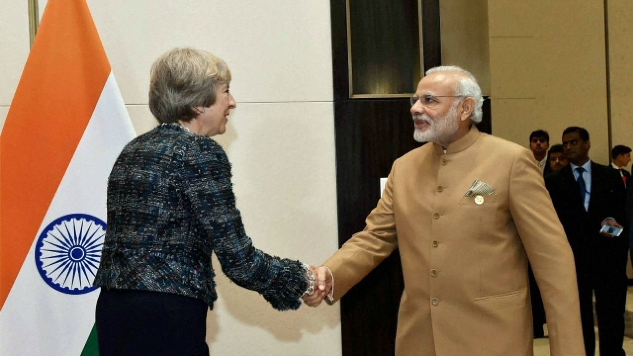 India ready to forge 'ambitious' trading relations with UK: Theresa May