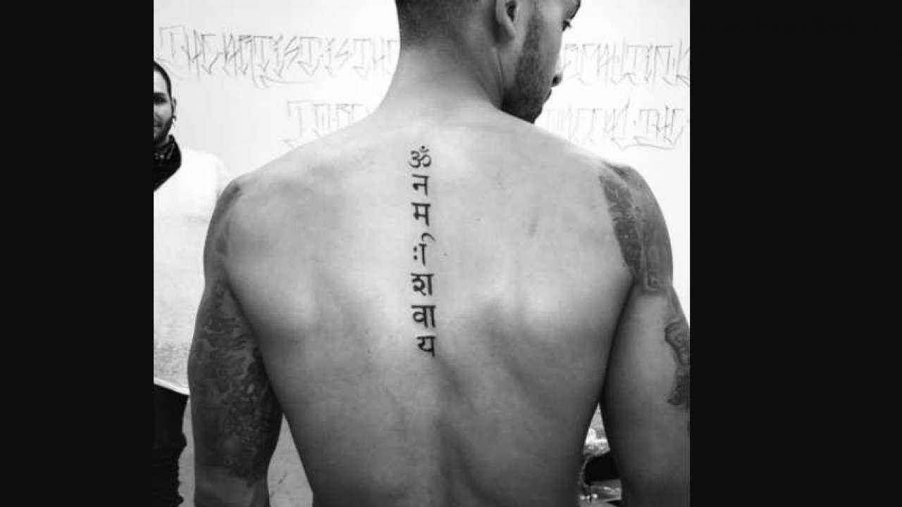 Arsenal S Theo Walcott Just Got A Shiva Tattoo And Twitter Can T Keep Calm