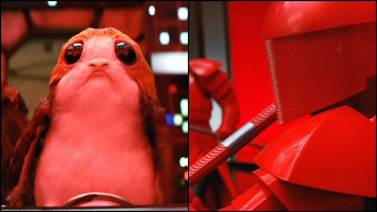 Star Wars The Last Jedi Have You Met Porgs And The Praetorian Guard
