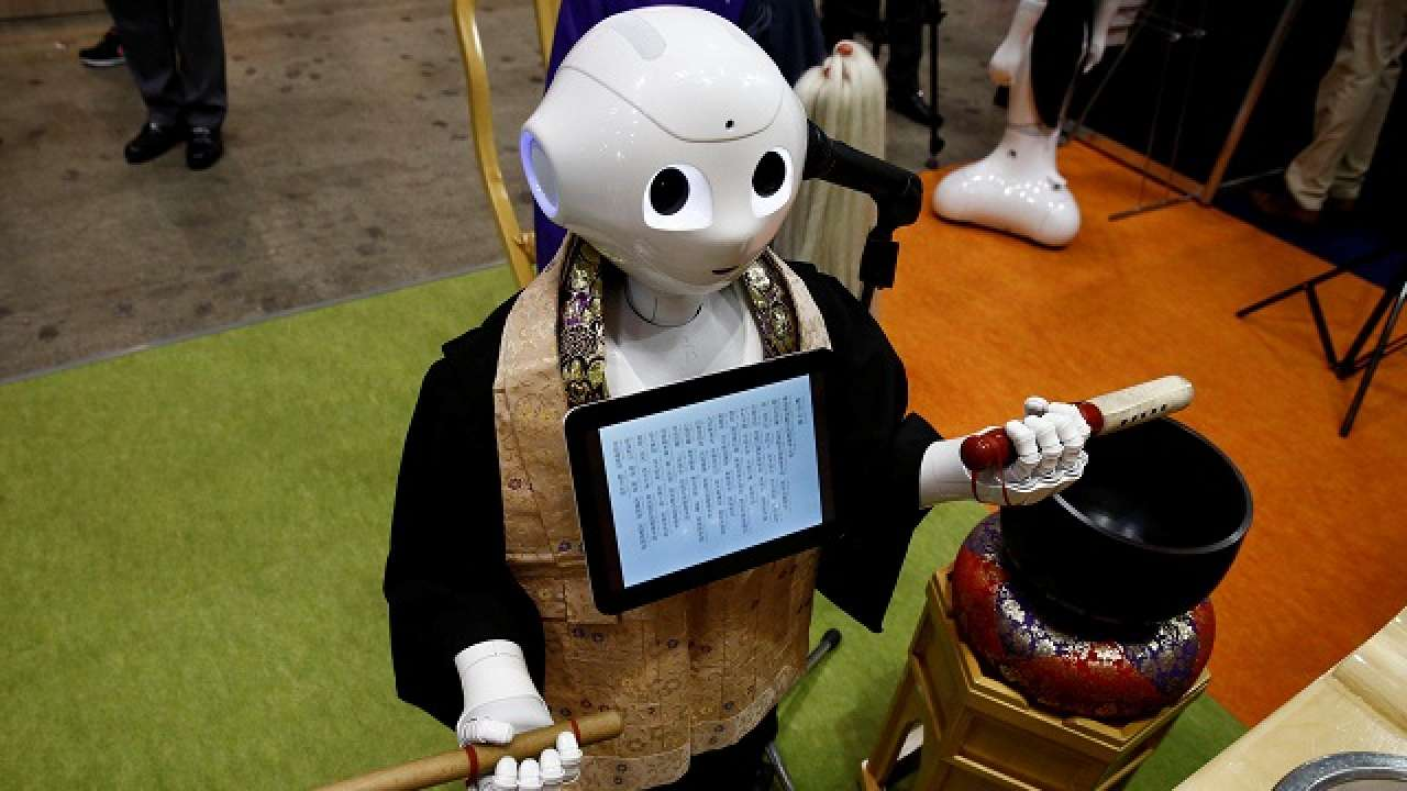 In Japan, robot-for-hire programmed to perform Buddhist funeral rites