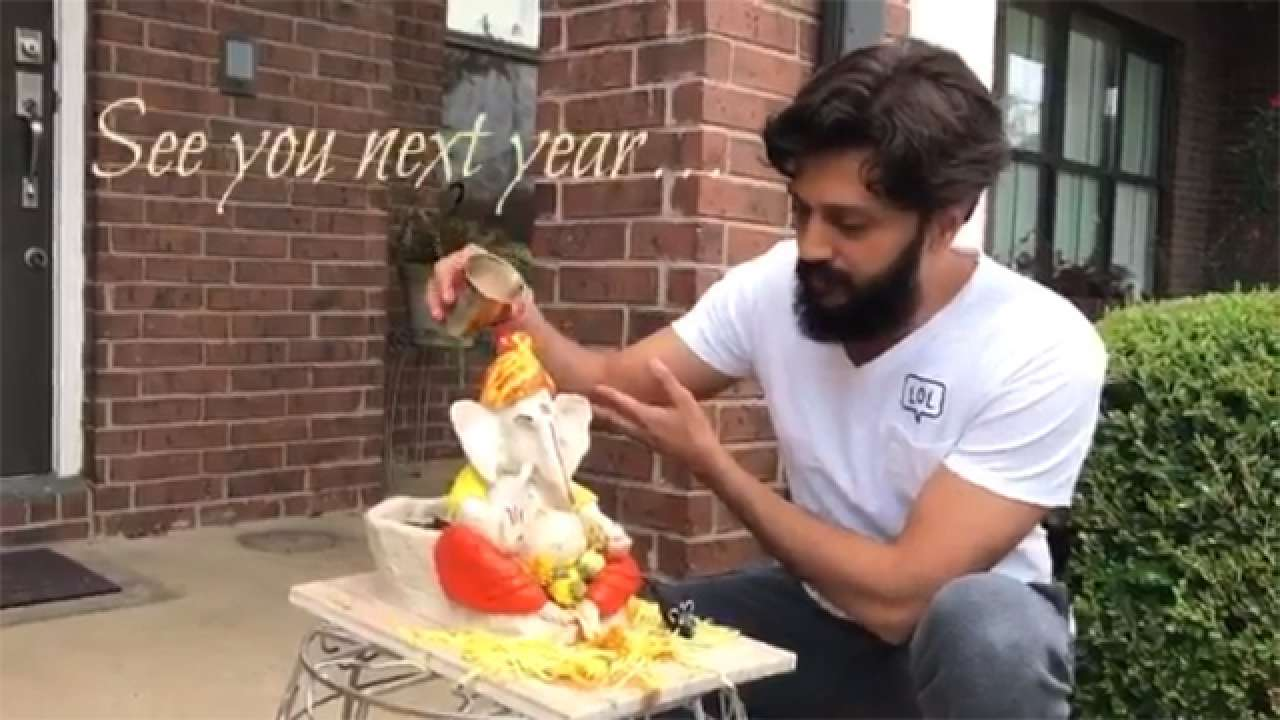 Watch Riteish Deshmukh S Clever Eco Ganesha Will Give You