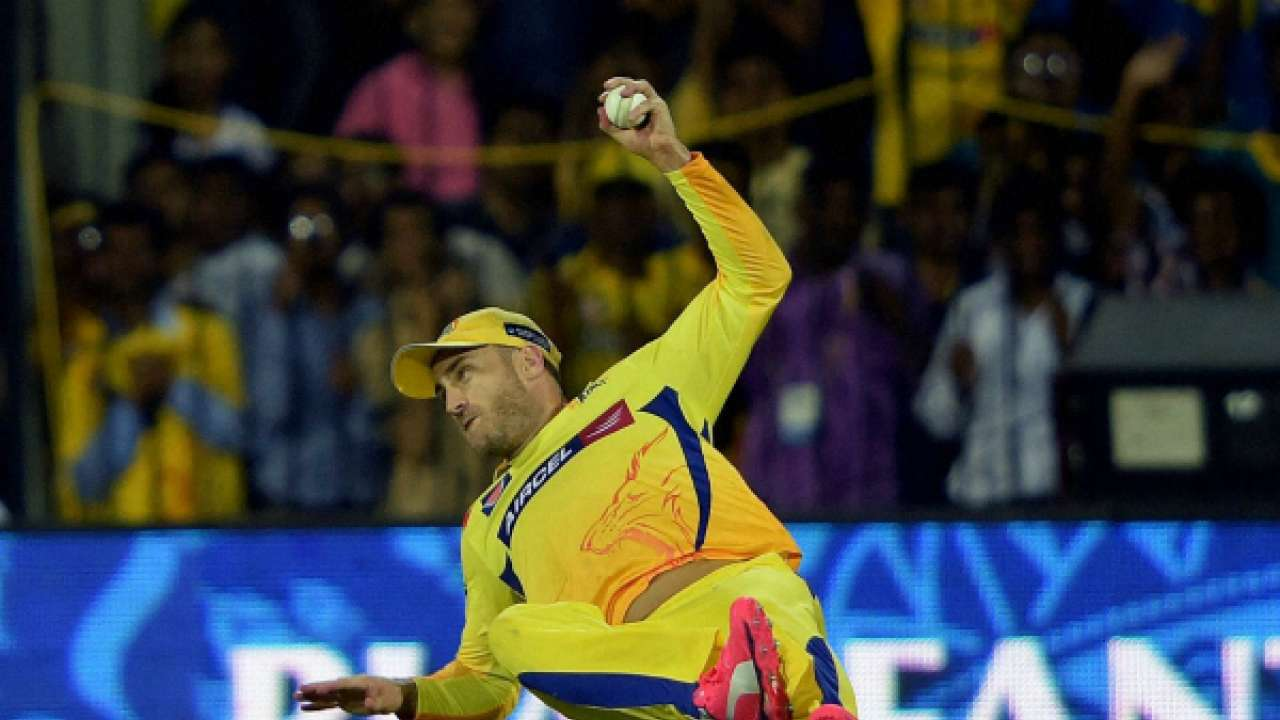 du plessis csk catching