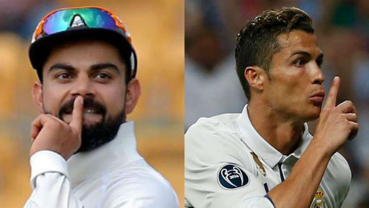 Watch Virat Kohli Thinks He Is Cristiano Ronaldo My Fifa Rating