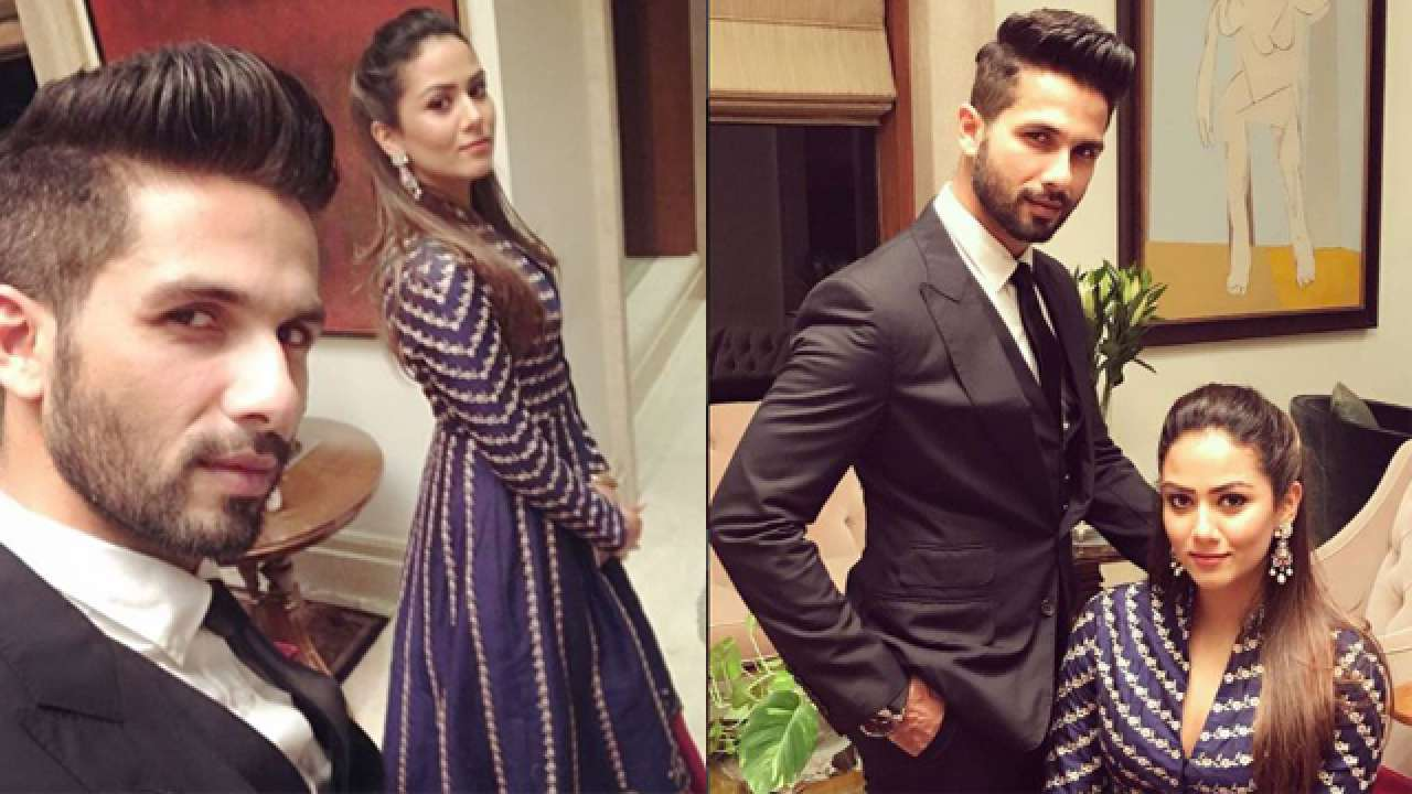 Image result for latest images of shahid kapoor with mira rajput