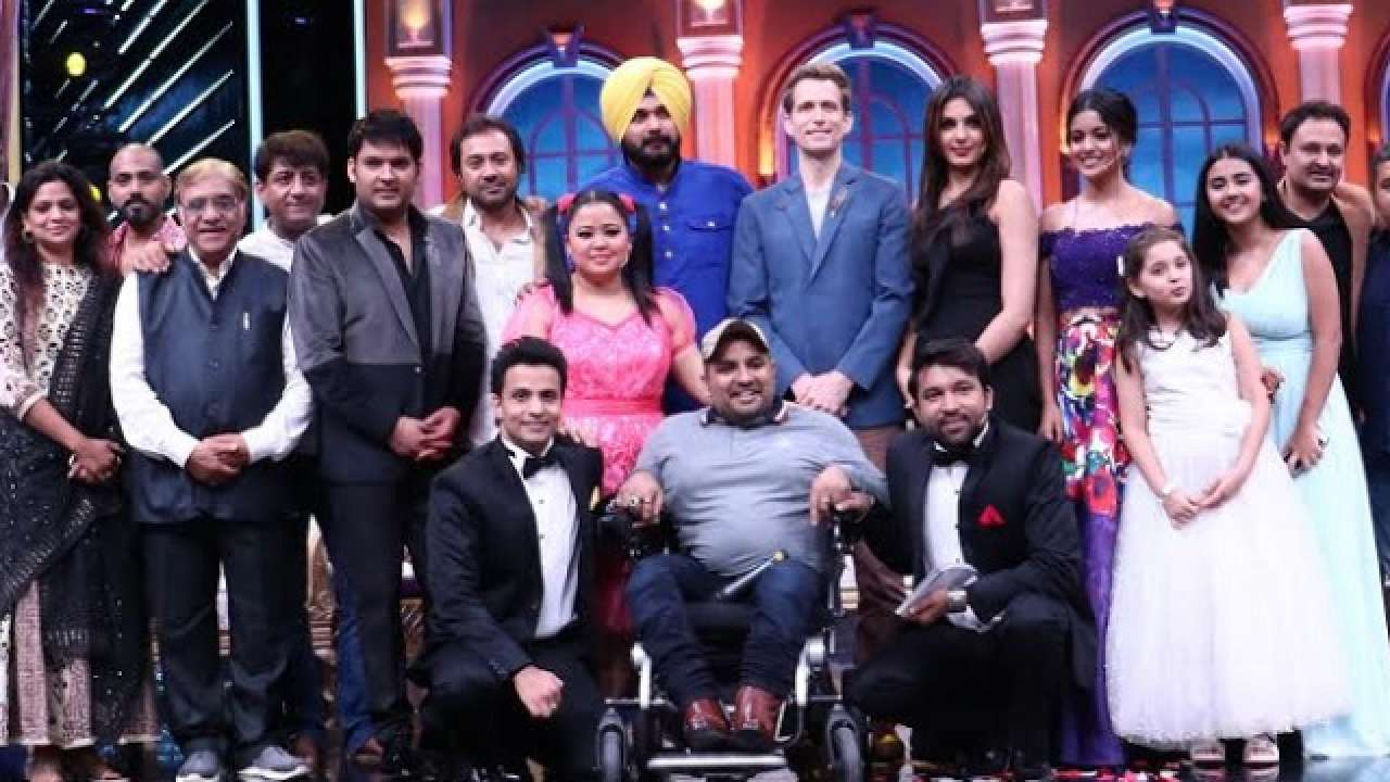 Kapil Sharma is back on TV, shoots a special episode for