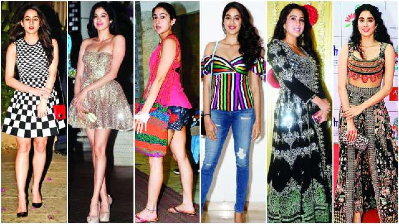 c79832d3a3 Style face-off: Sara Ali Khan vs Janhvi Kapoor