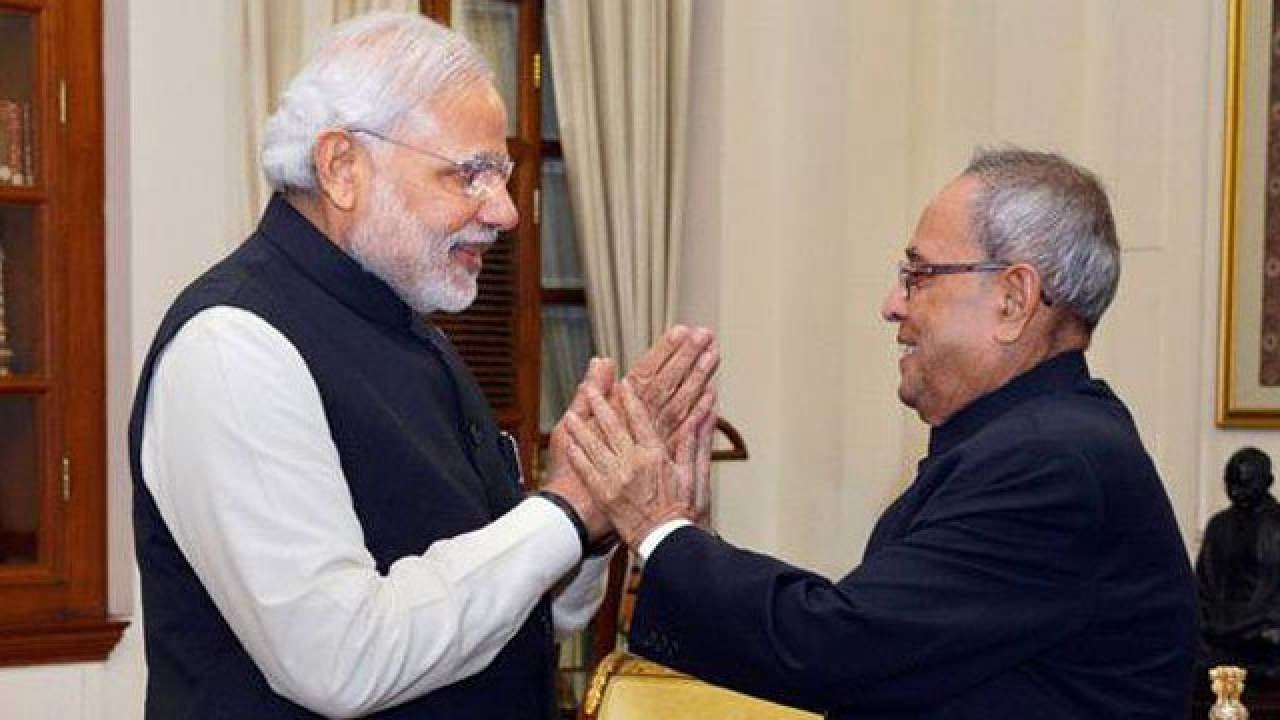 Pm Narendra Modi Wishes Pranab Mukherjee On 82nd Birthday