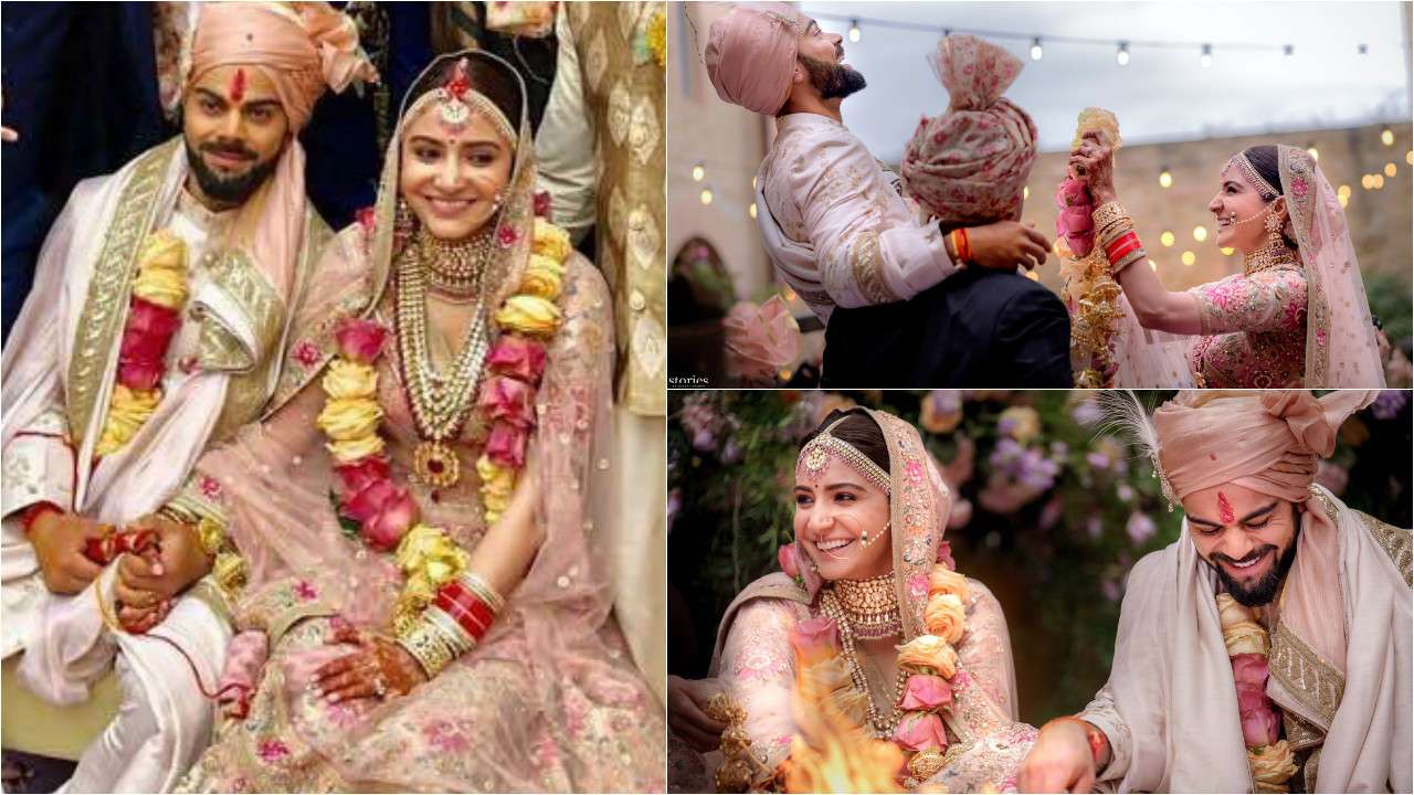 Virat Kohli Wedding.Virushka Wedding Haldi Engagement Wedding Watch All Inside