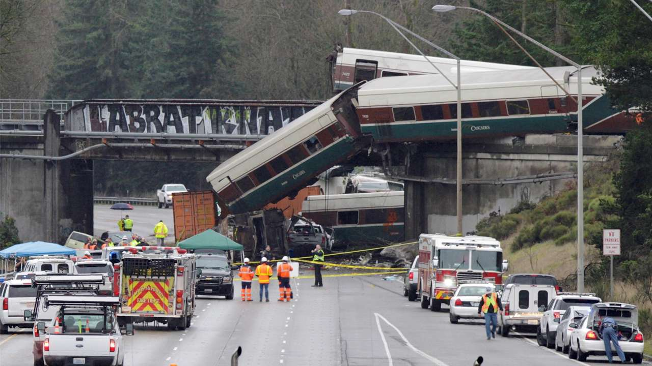 Amtrak train accident | 3 killed, more than 70 injured in