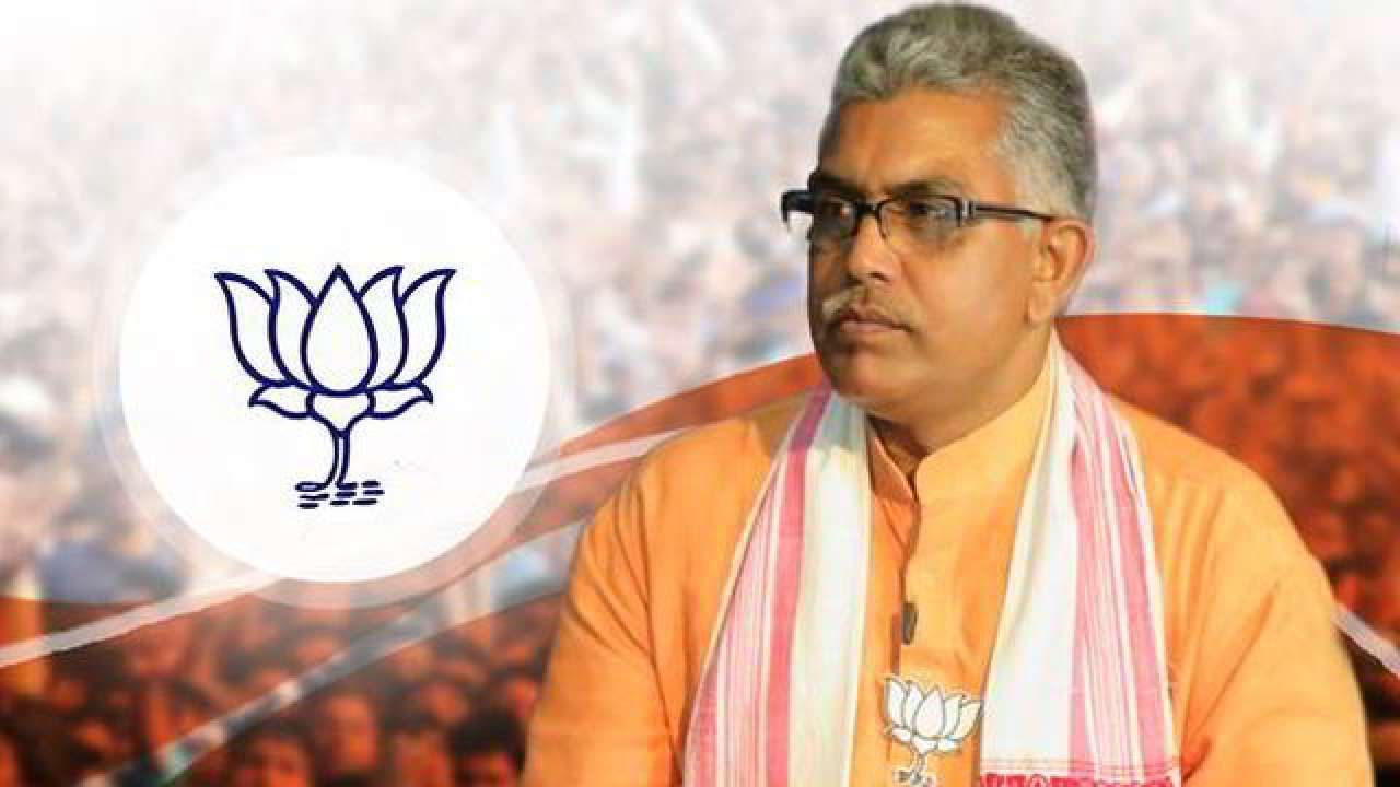 West Bengal BJP chief Dilip Ghosh hospitalised