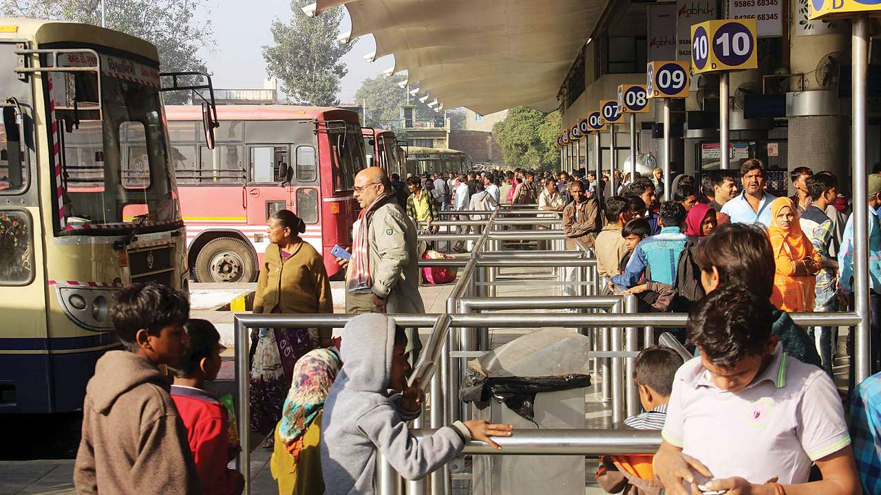 ST Buses freeze wheels due to stir in North Gujarat