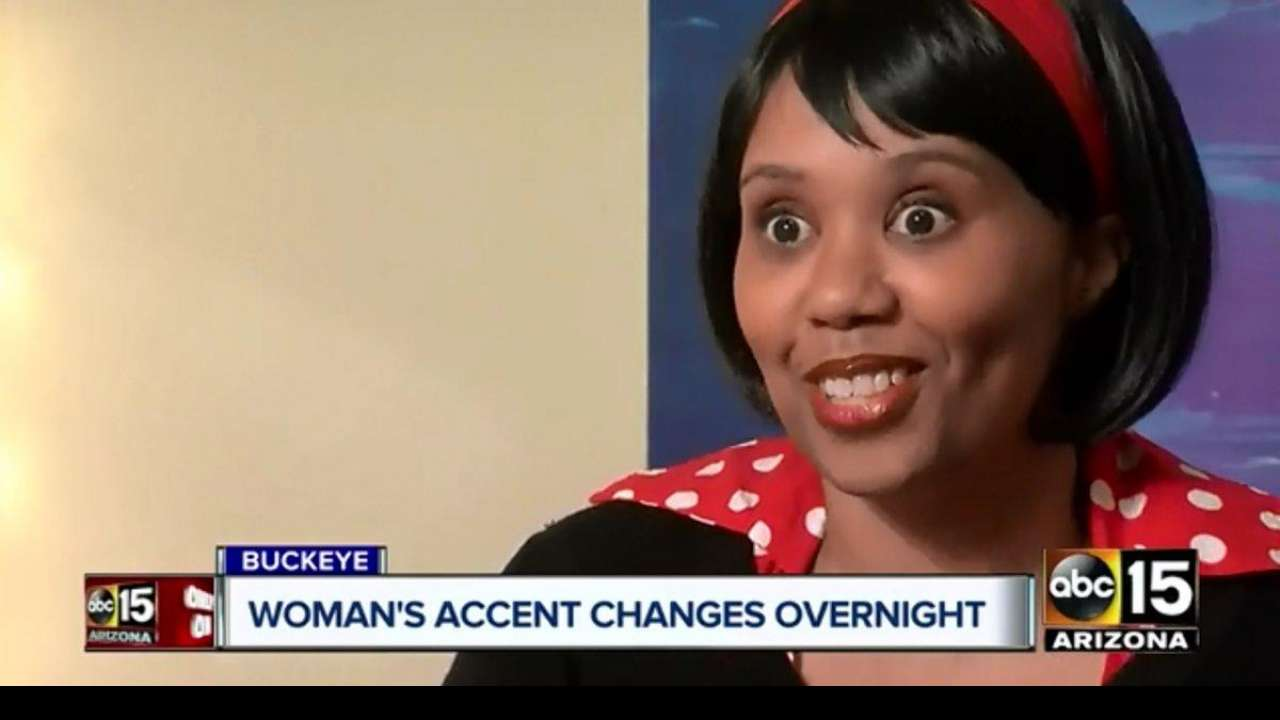 Due To Foreign Accent Syndrome Arizona Woman Who Never Left Us Wakes Up With British Accent