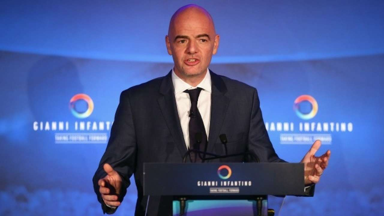 I Almost Cried Fifa President Gianni Infantino On Italy Missing Out On Russia  Wc