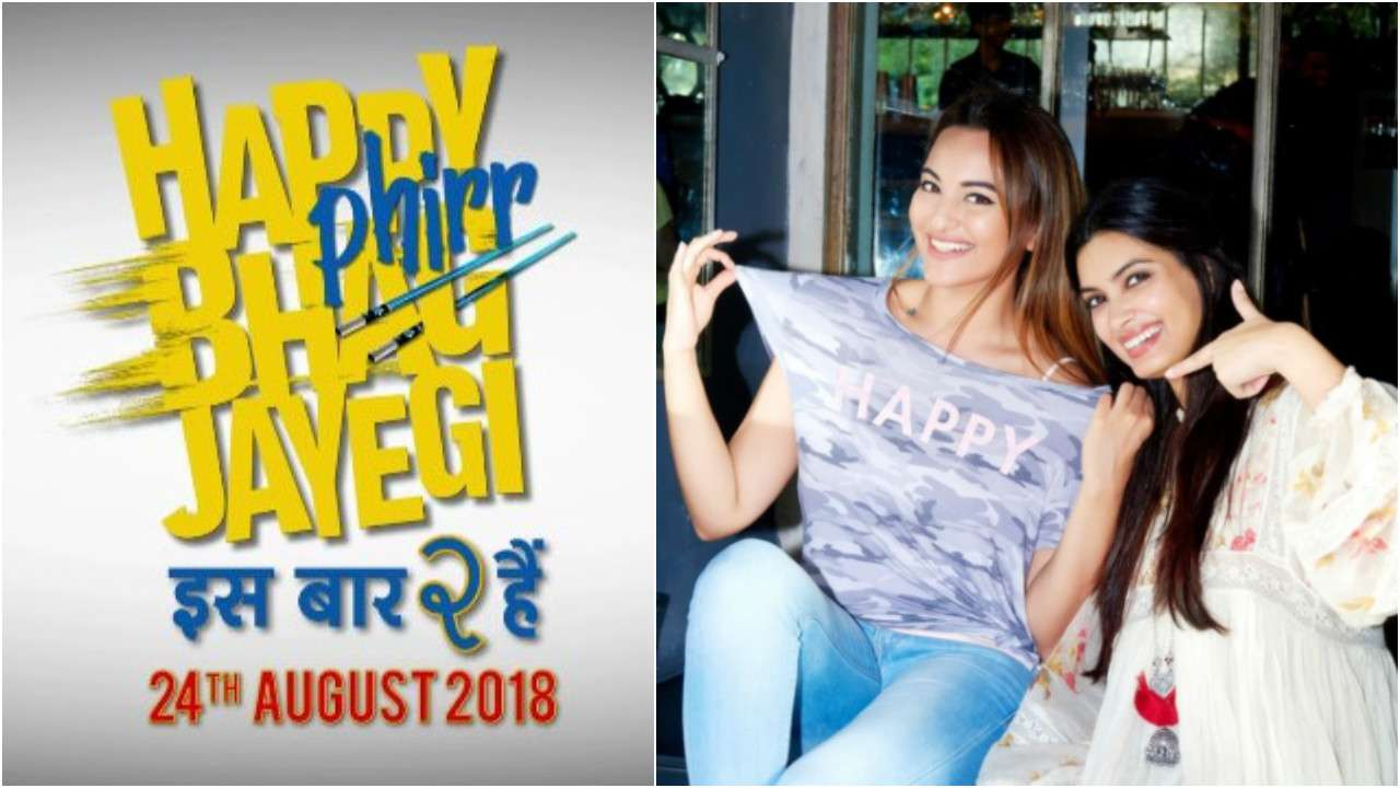 Maker S Announce Happy Phirr Bhag Jayegi With Sonakshi Sinha And