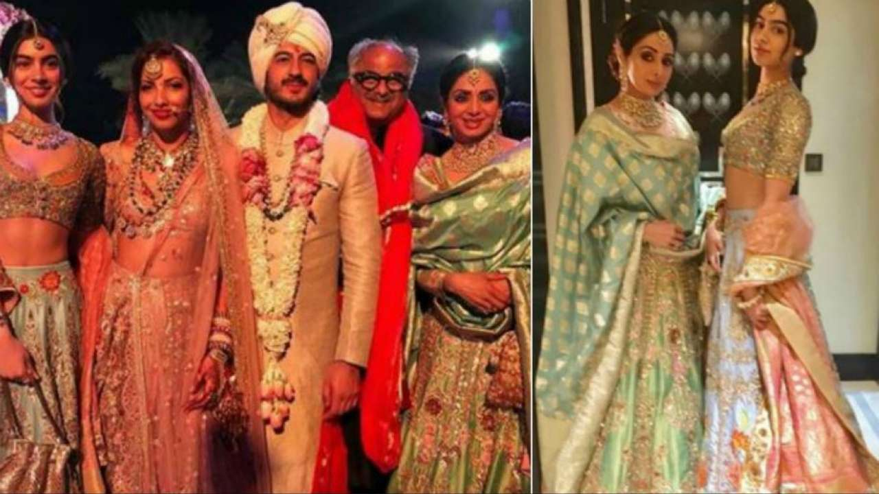 RIP Sridevi A Look At Her Last Pictures From The Wedding In Dubai