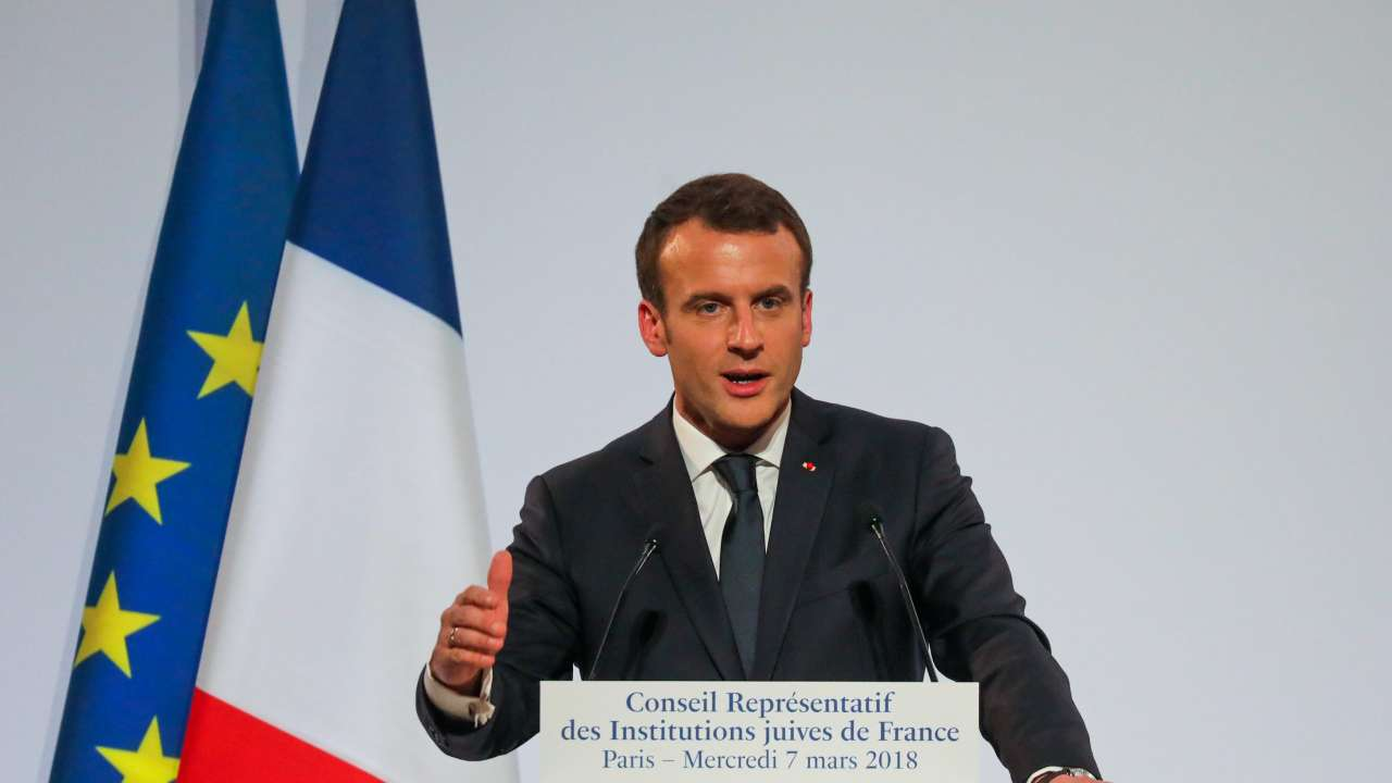 French President Emmanuel Macron Seeks To Replace Britain As India S Gateway To Europe