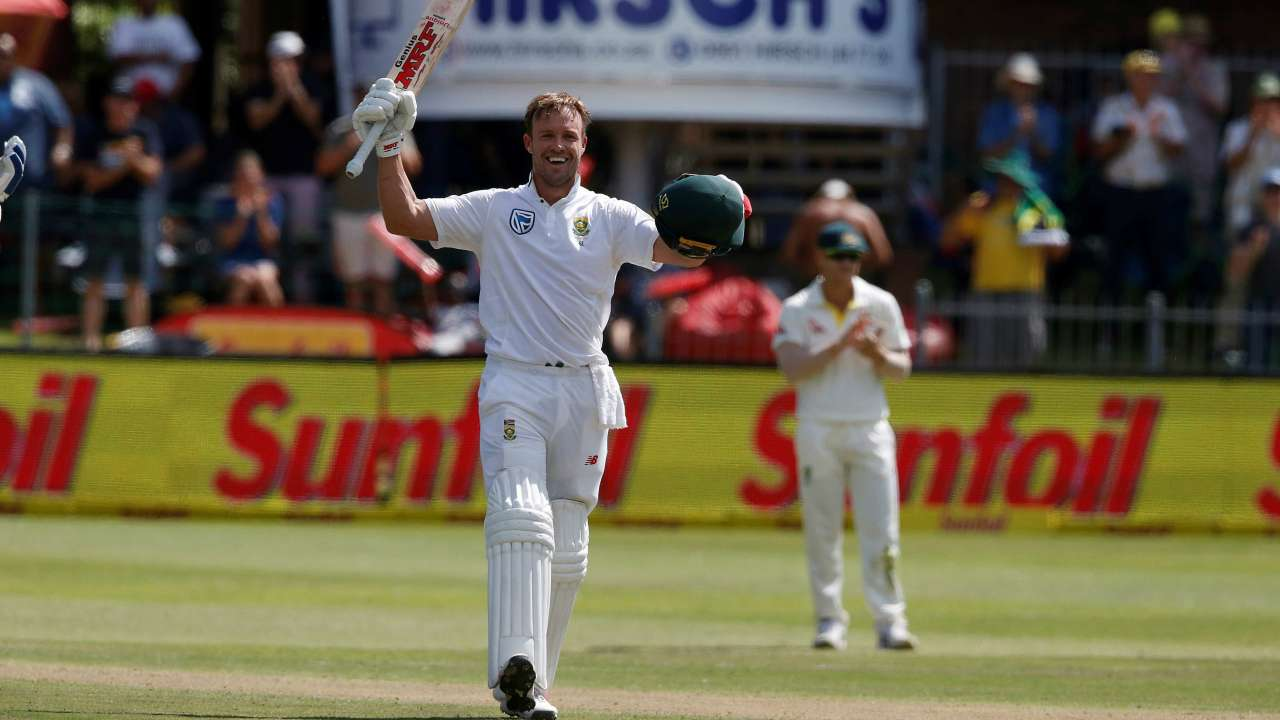 Savaus 2nd Test Ab De Villiers Is The Federer Of Cricket Twitter Left In Awe As Abd Slams Masterful Ton