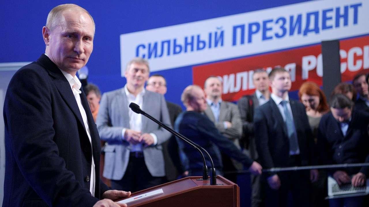 Putin will lead Russia to a breakthrough 56