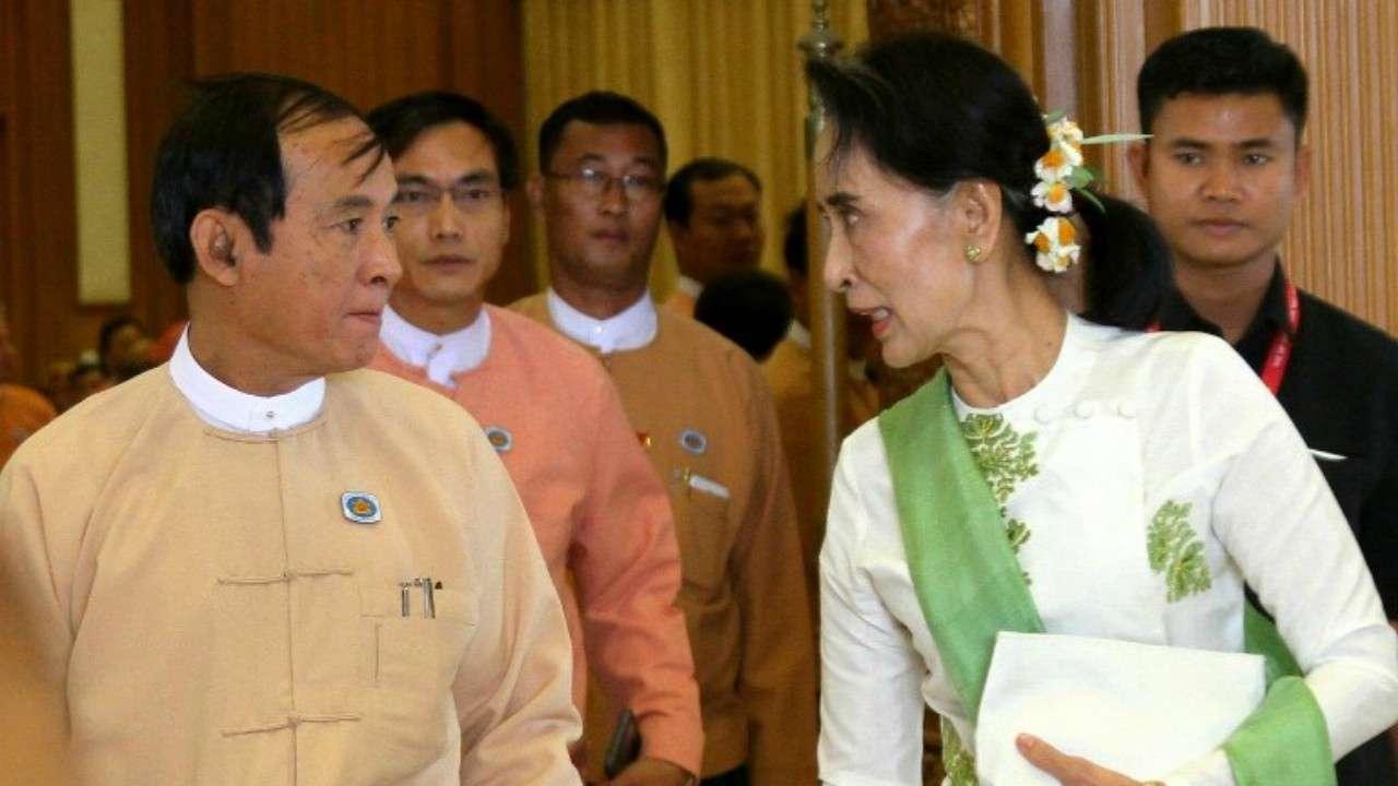 Suu Kyi loyalist Win Myint likely to next Myanmar President