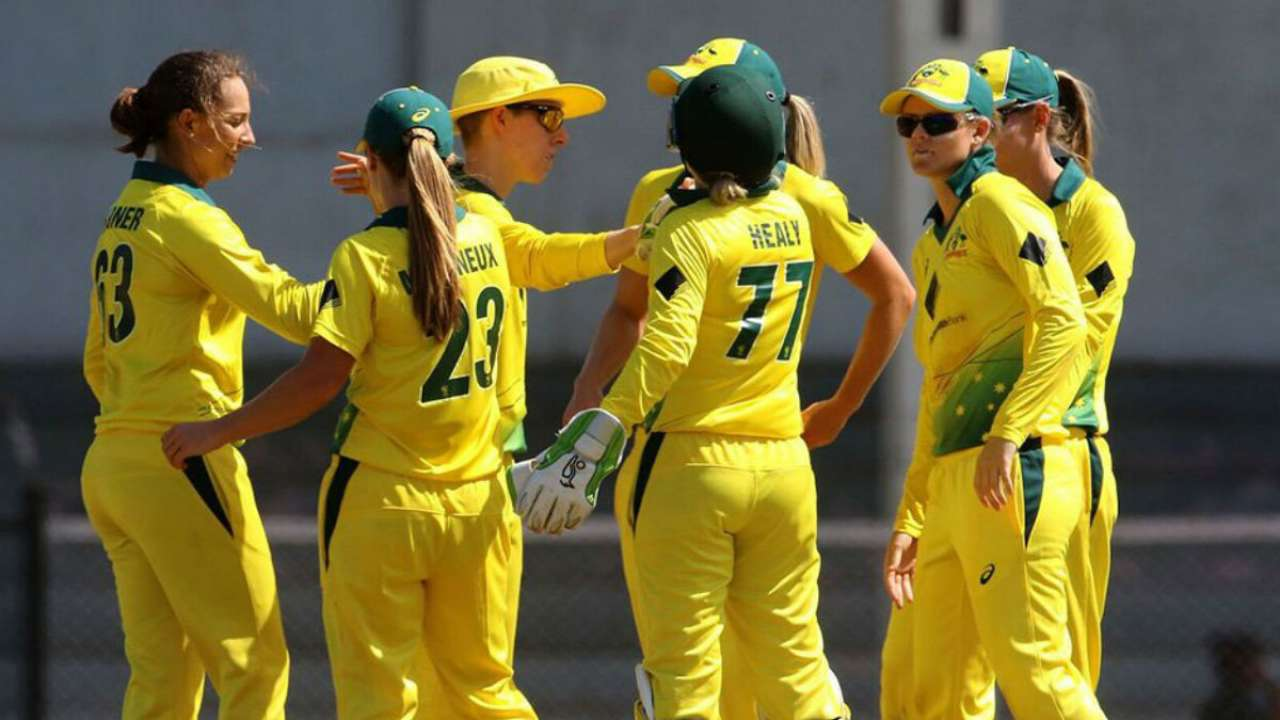 T20 Tri Series Australian Women Overpower India By 6 Wickets