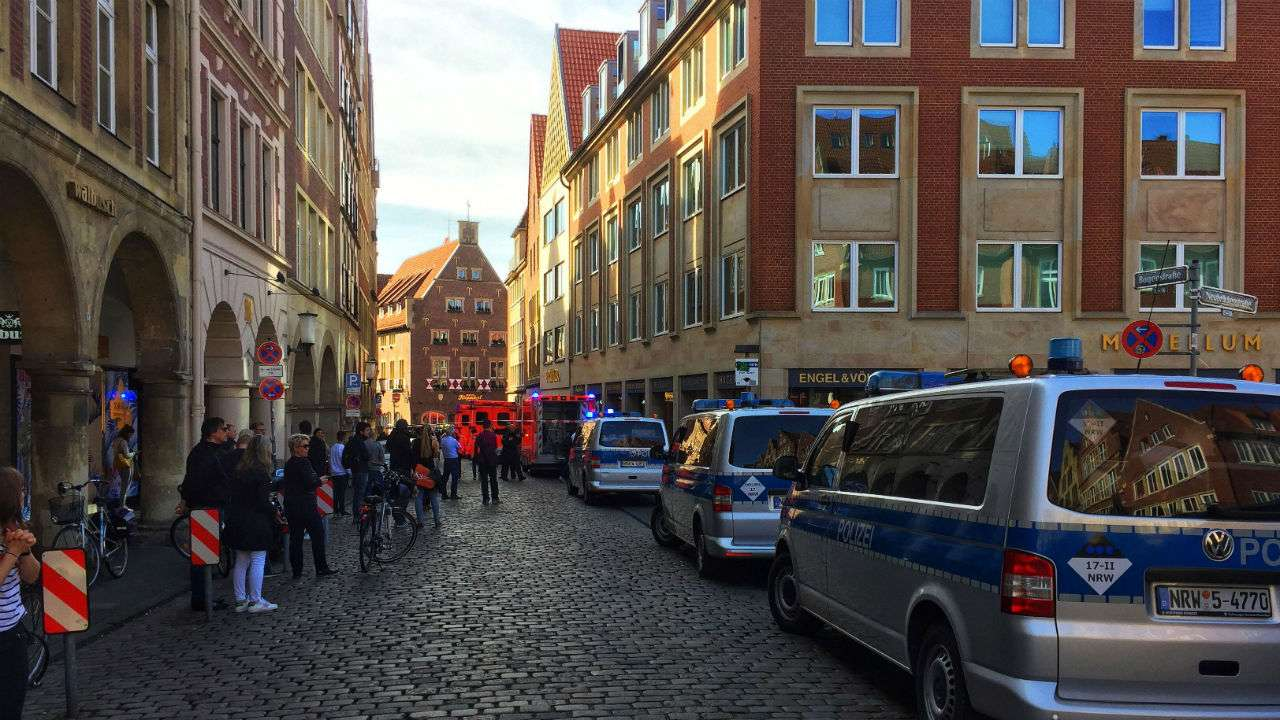 Driver Who Smashed Van Into German Crowd Psychologically Disturbed