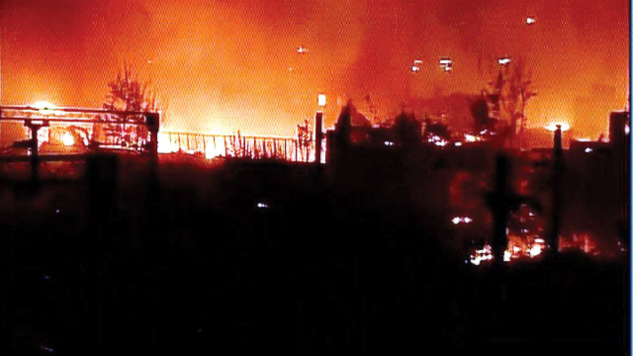 Two killed after fire breaks out in footwear manufacturing factory