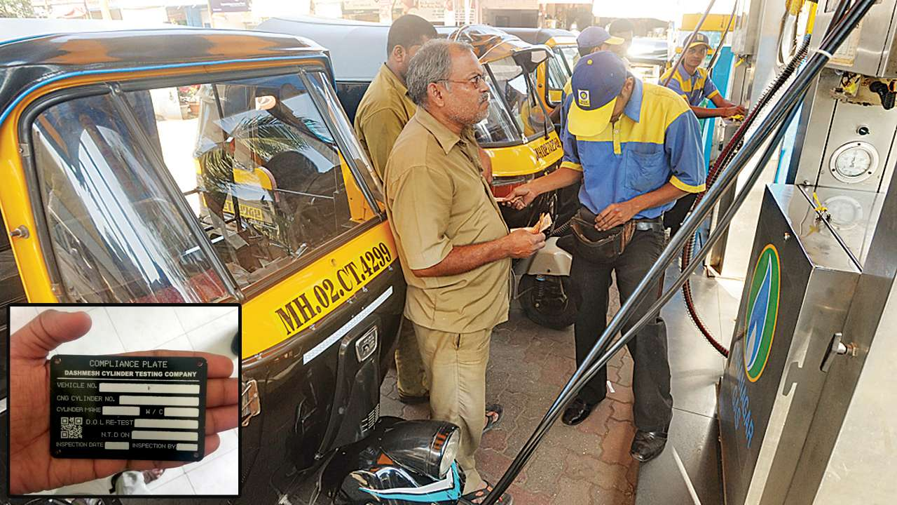 QR codes could prevent forging of CNG tank plates