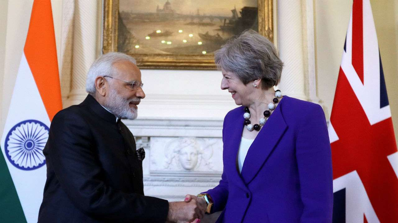 Modi In Uk After 9 Year Hiatus Indian Pm To Join 52 World Leaders