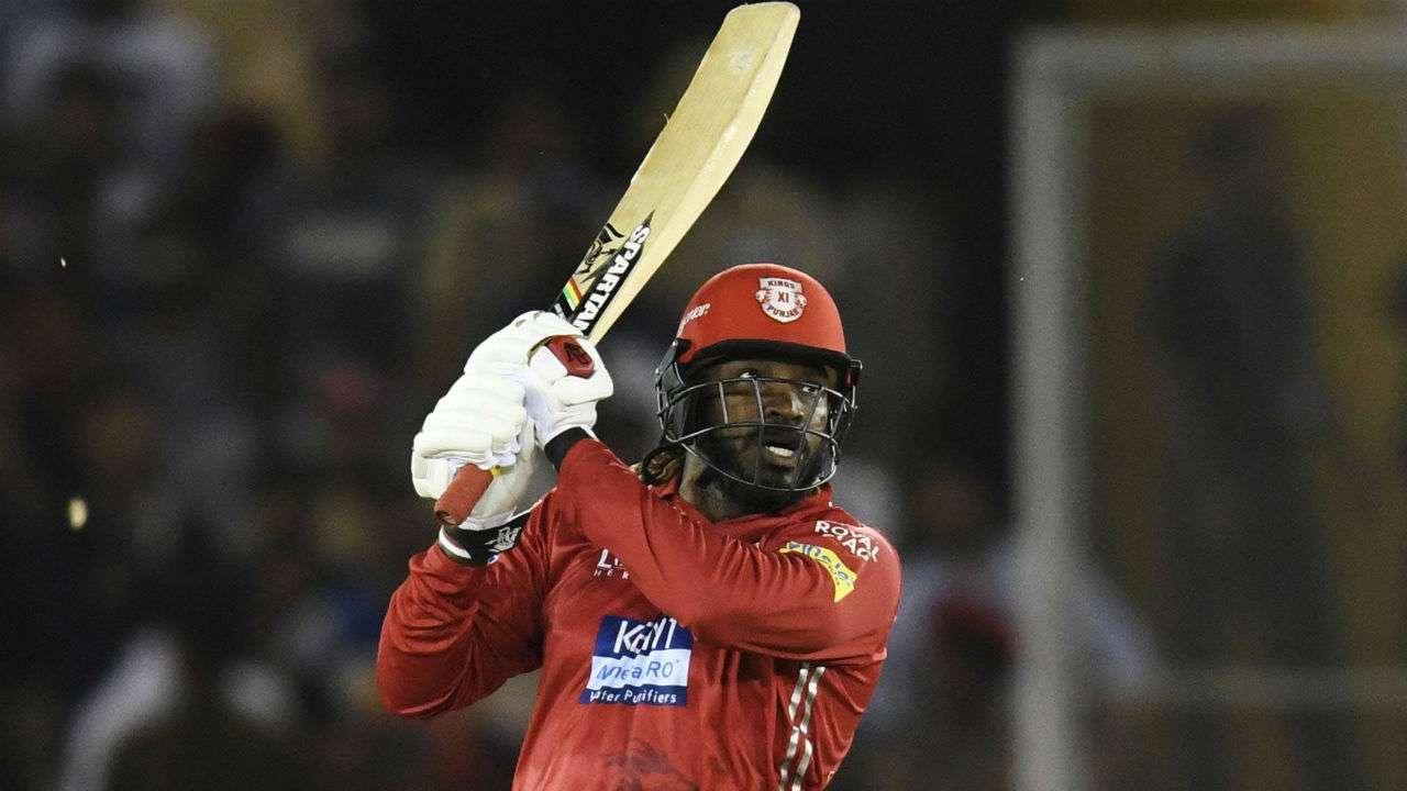 IPL 2018: KXIP v/s SRH- Punjab ride on Chris Gayle's century to post 193/3