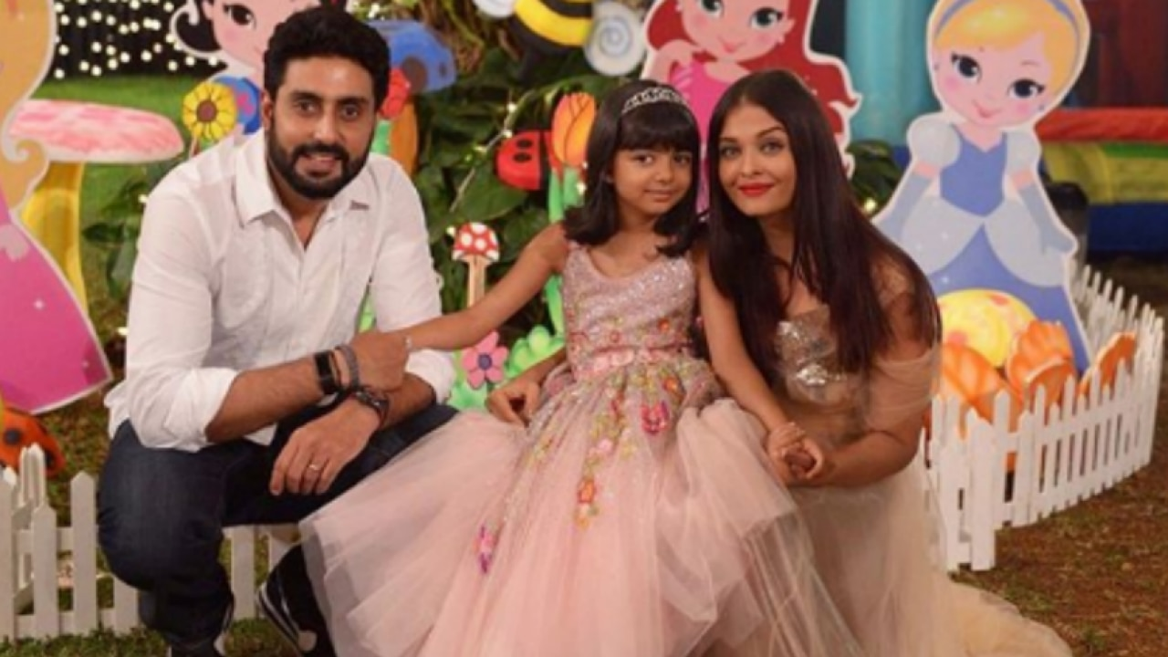 Abhishek Bachchan's darling daughter Aaradhya left an adorable note for him  in his office, check pic!