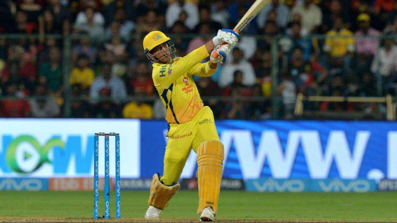 IPL 2018, RCBvCSK - Yet another finish with a six: Watch MS Dhoni ...