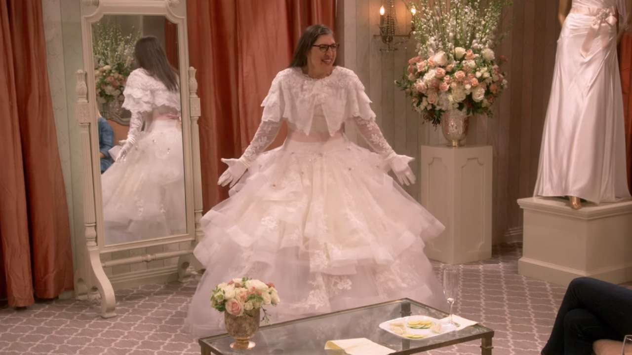 Images Of Gowns For Wedding: Here's Why Wearing Wedding Dresses On 'The Big Bang Theory