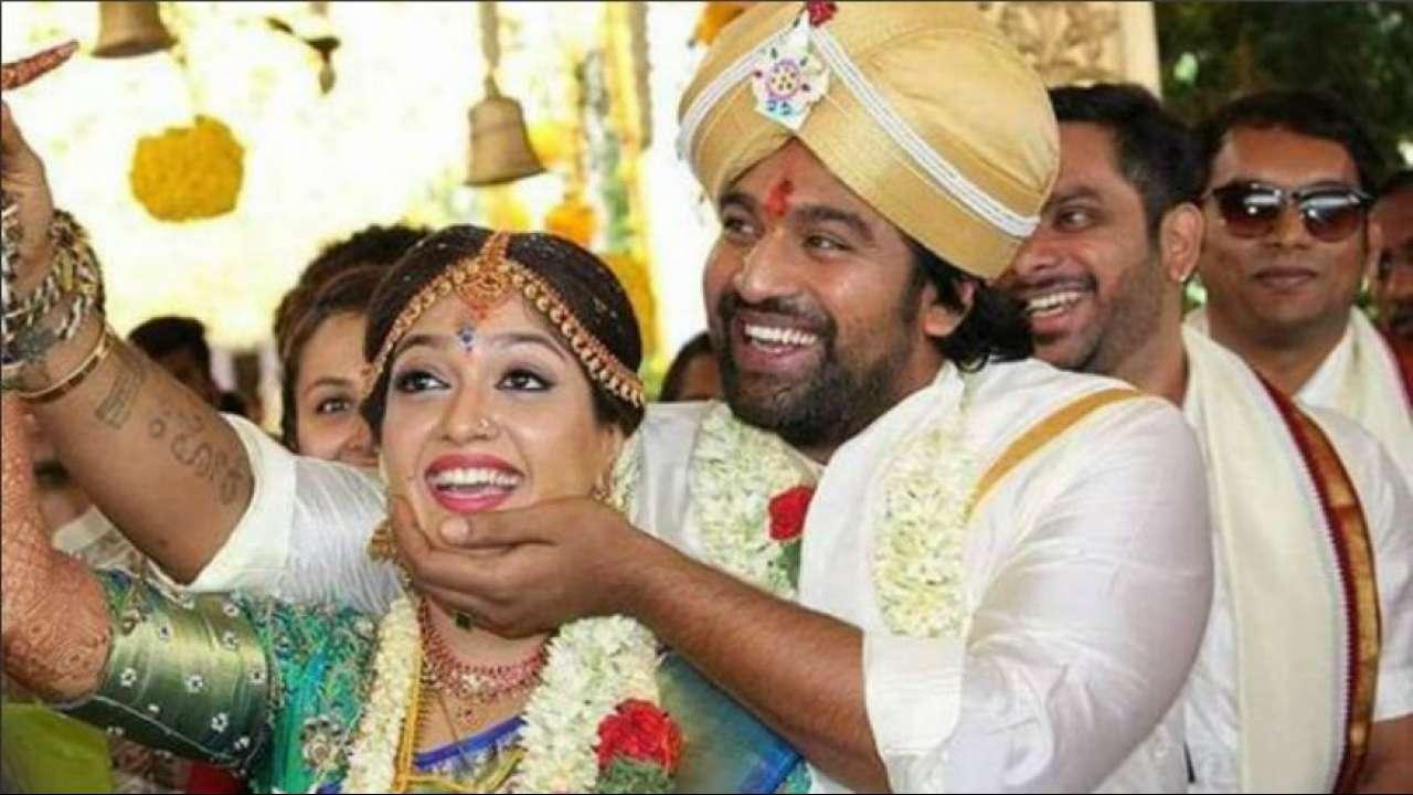 Kannada actors Meghana Raj And Chiranjeevi Sarja get married