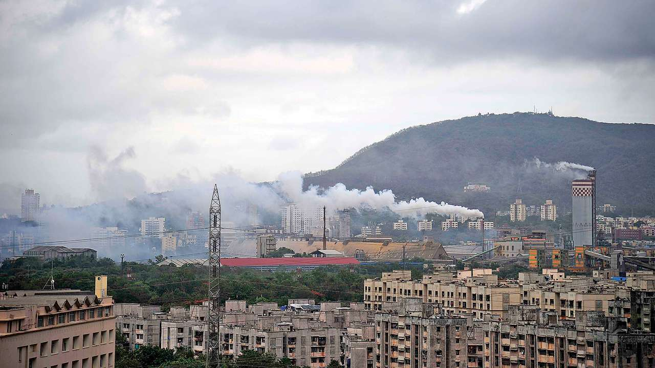 causes of pollution in mumbai city project