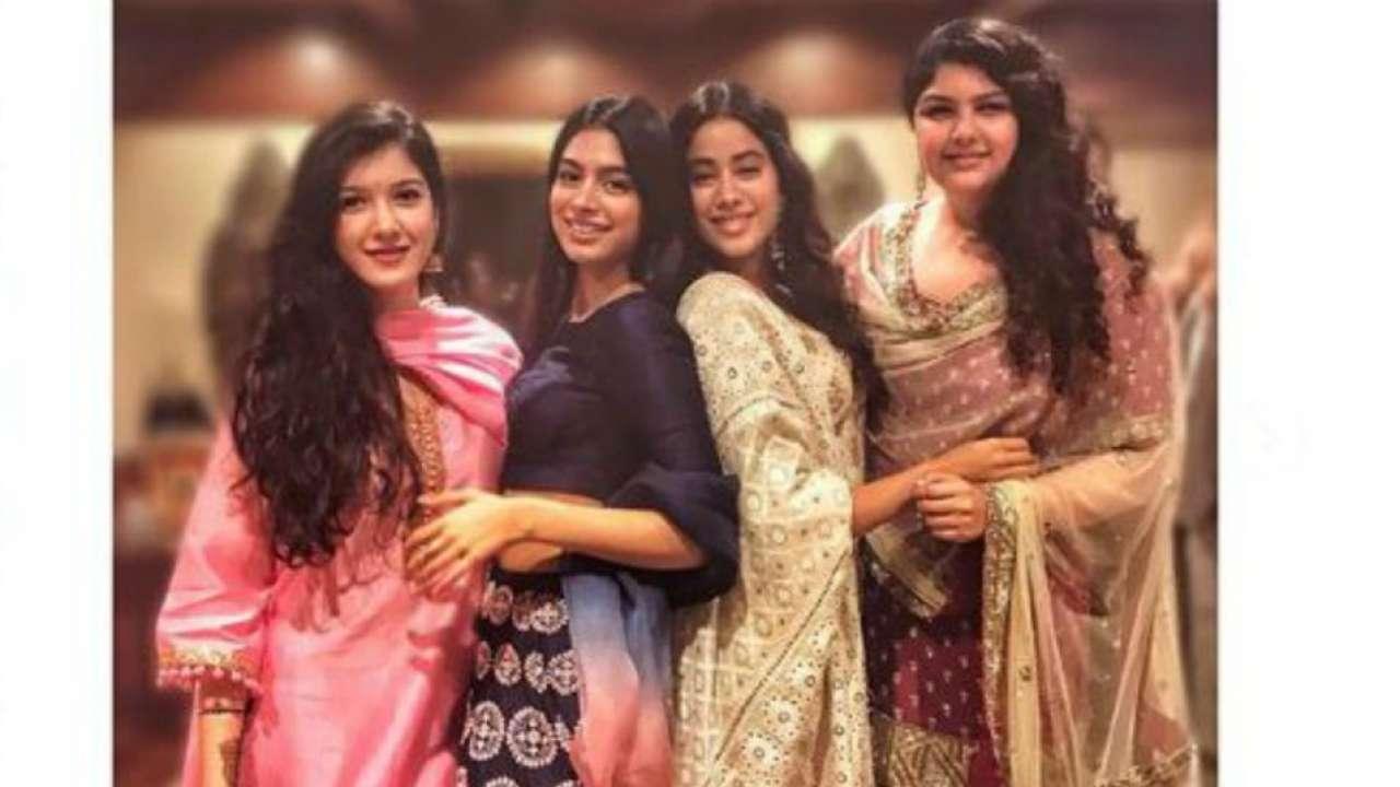 In pics: Sonam Kapoor's cousins Janhvi, Khushi and Anshula ...Shanaya Kapoor Instagram