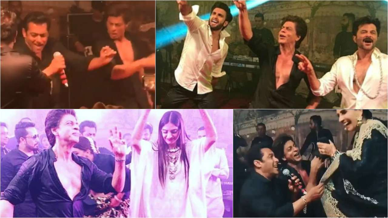 Image result for sonam's wedding shahrukh salman khan