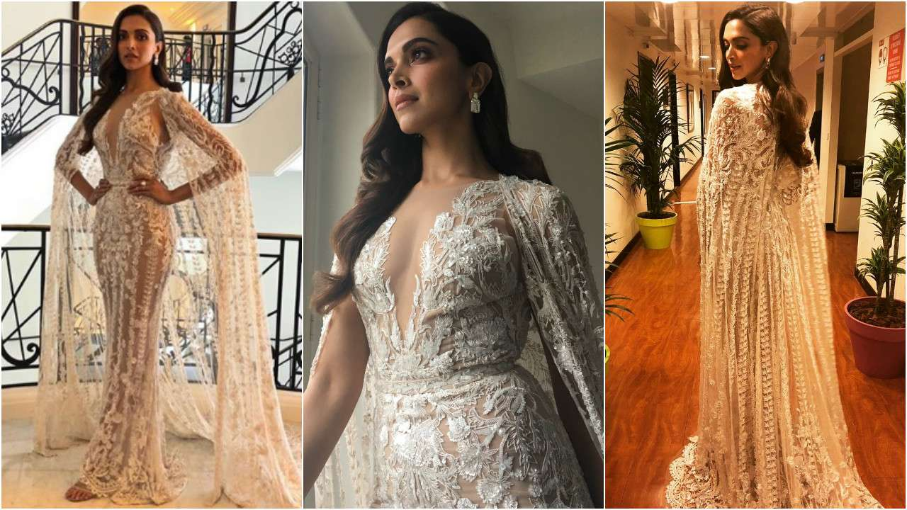 Cannes 2018: Deepika Padukone ditches the middle-parting ...