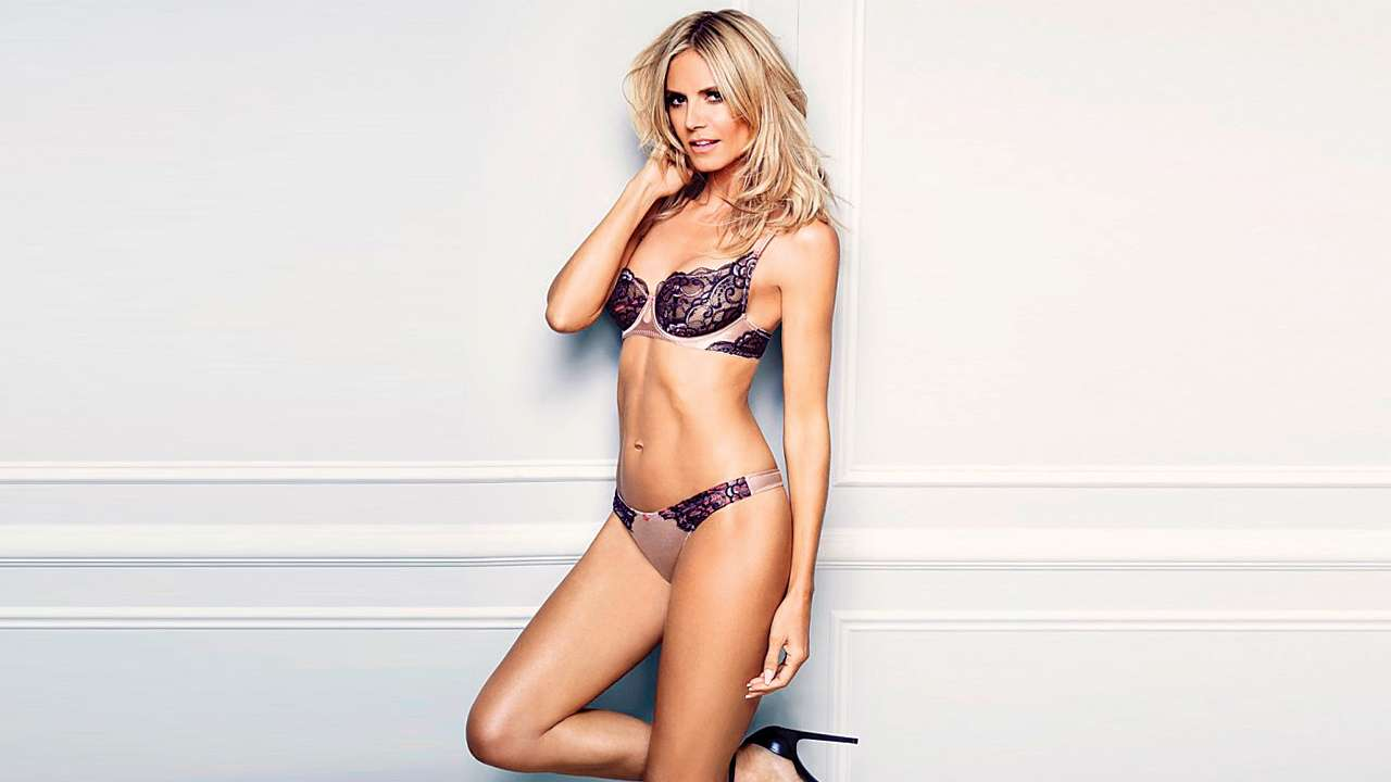 Celebs with lingerie lines