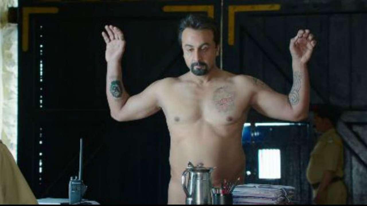 Anushka Sharma Sex Scene sanju trailer: ranbir kapoor on nude scene in rajkumar