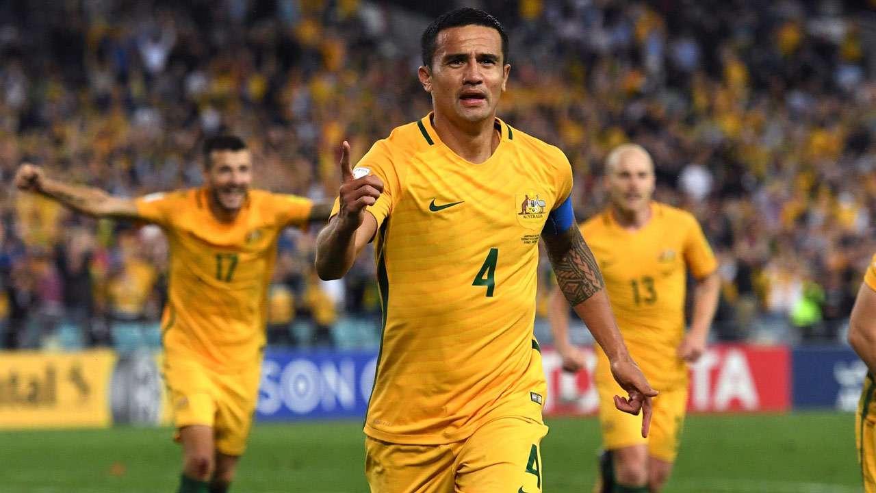 Australia's ageing talisman Tim Cahill in 23-man squad for FIFA ...